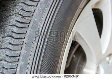 Part Of A Car Used Wheel
