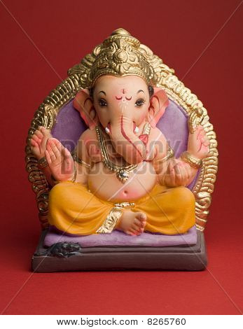 A statue of Ganesha