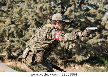 Airsoft Soldier
