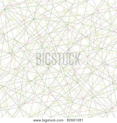 Abstract mosaic pattern with triangles. Seamless vector. Bright colors.