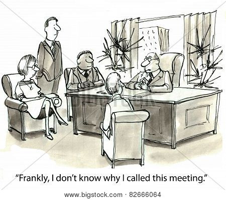 Too Many Meetings