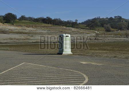 Plastic Public Toilet Cubicle