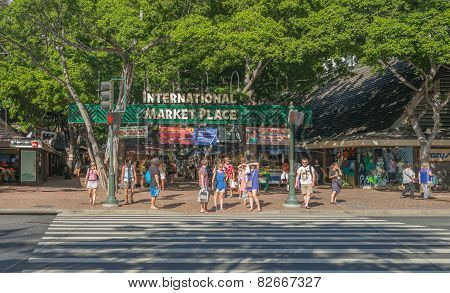 Waikiki International Market Place.