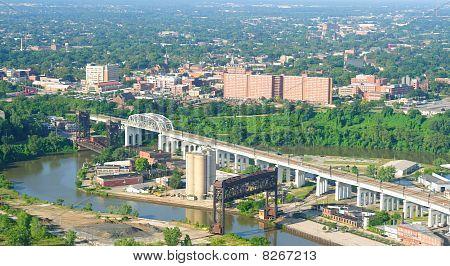 Ohio Stadt aerial