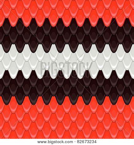pattern scales snake