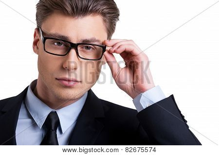Businessman Confident Look