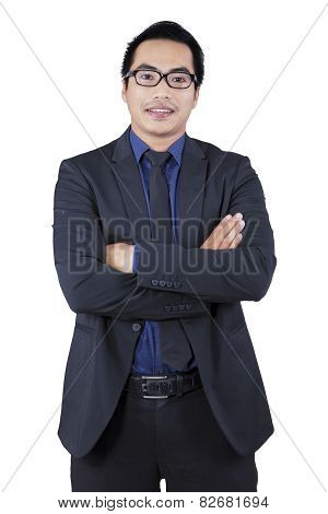 Confident Manager Looking At The Camera