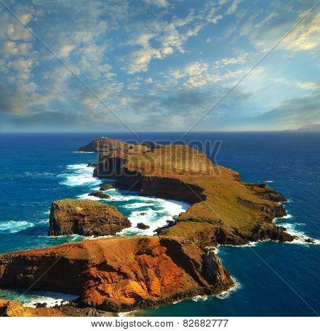 Madeira. The eastern tip of the island - Ponta de Sao Lourenco