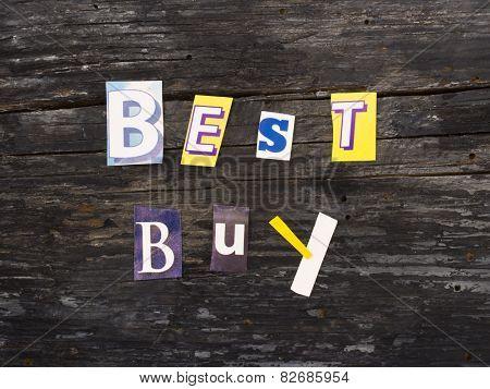 BEST BUY, marketing words