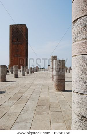 Columns At Ruined Mosque