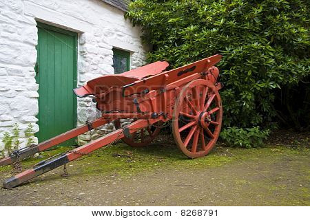 Old Horse Drawn Cart