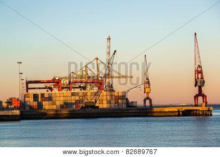 Lisbon's Commercial Port