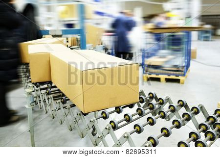 The image of automatic conveyor