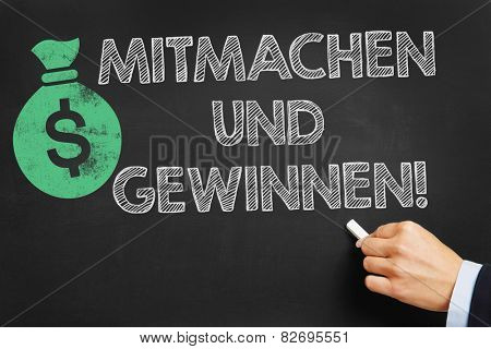 Hand writes in German