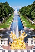 picture of samson  - Fountain in Peterhof - JPG