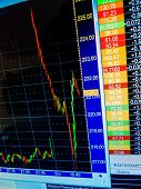 picture of stock market crash  - on the stock market - JPG