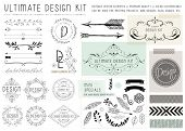 stock photo of feathers  - ULTIMATE DESIGN ELEMENTS KIT - JPG