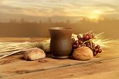 picture of communion-cup  - Cup of wine - JPG
