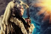 picture of pagan  - Ancient warrior Barbarian - JPG