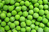 picture of green pea  - frozen peas green beans texture pattern background - JPG