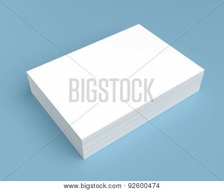 Heap Of White Paper