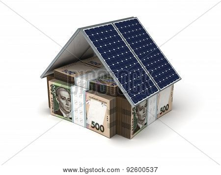Ukrainian Hryvnia Energy Saving