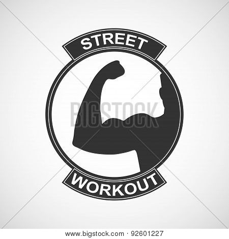 Different Sports And Street Workout Logo Templates.