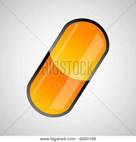 Shiny Pill Capsule