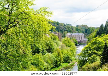 New Lanark World Heritage Site, Scotland