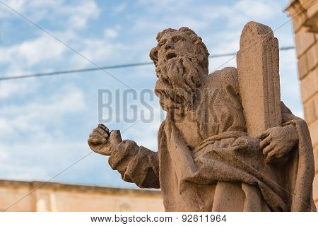 Italy: Moses' statue