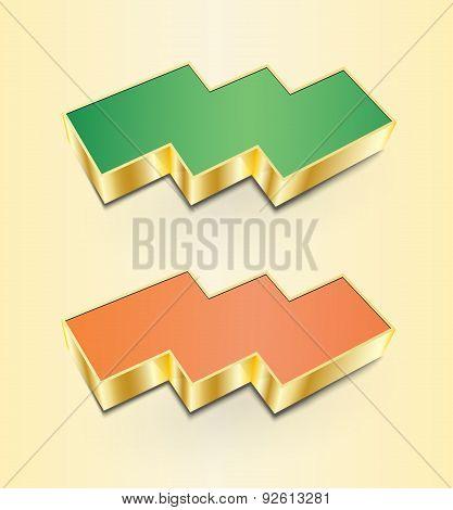 Triple 3D Icons