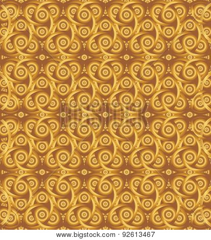 Cocoa Celtic Knot Background
