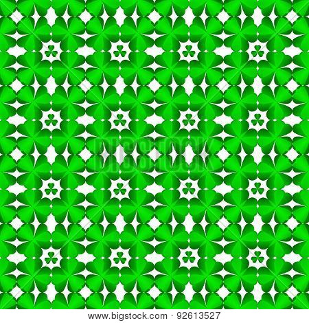 St. Patrick's Day Background With Shamrock