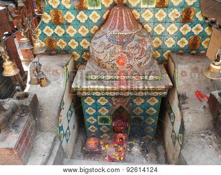 place of worship, hinduist temple in Kathmandu, Nepal