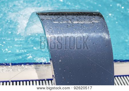 Closeup Of Swimming Pool Equipment