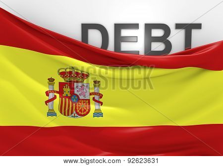 Spain national debt and budget deficit financial crisis