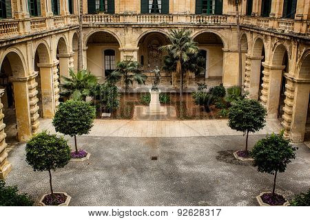 Palace Of The Grandmaster In Valletta