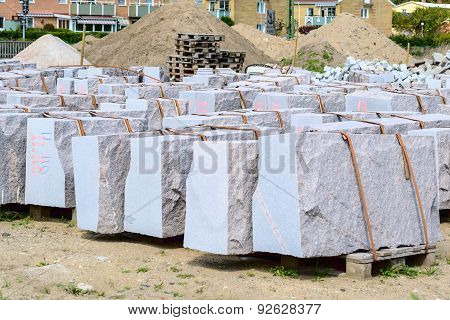 Granite Building Blocks