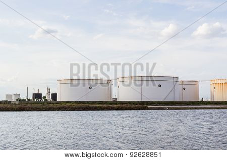 Oil Tank Or Gas Container.