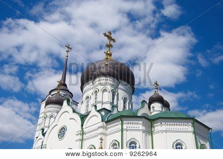 The Blagoveshchensk cathedral. A detail.