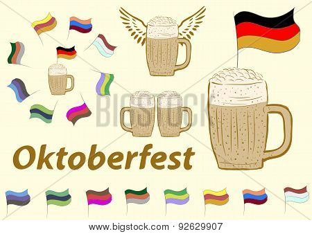 Clipart of Oktoberfest
