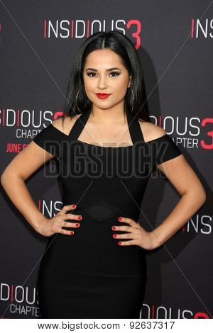 LOS ANGELES - JUN 4:  Becky G at the