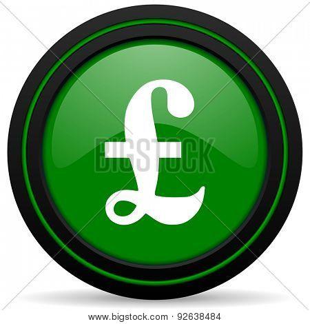 pound green icon