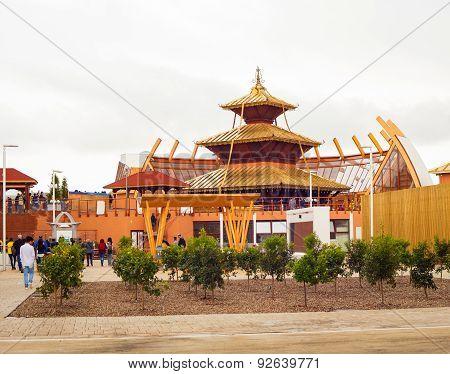 Nepal Pavilion, Expo 2015, Milan