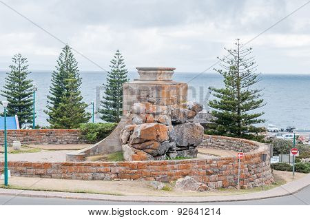 War Memorial At The Point In Mosselbay