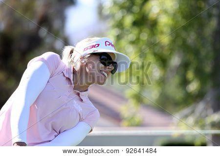 Pernilla Lindberg At The Ana Inspiration Golf Tournament 2015