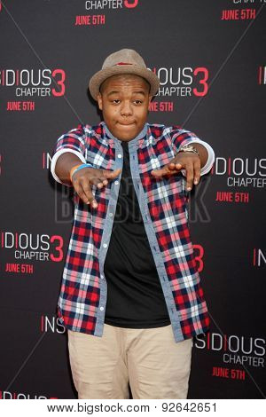 LOS ANGELES - JUN 4:  Kyle Massey at the
