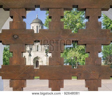 Monastery Through Lattice Gates