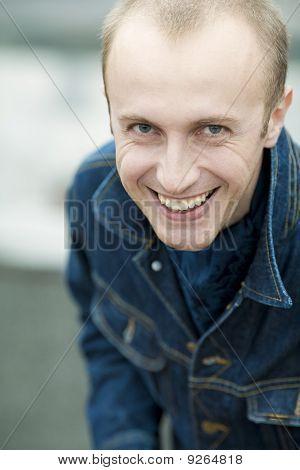 Smiling Handsome