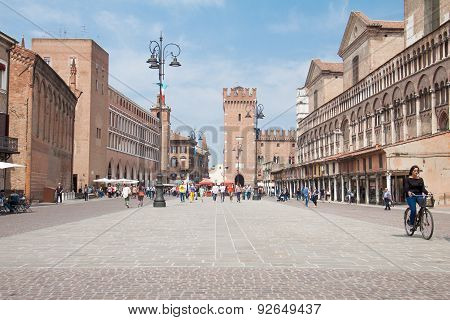 The Historic Center Of Ferrara